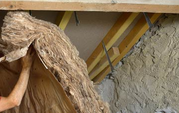 Tanfield pitched roof insulation costs
